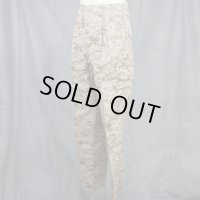 Trouser.DESET MARPAT COMOUFLAGE. MCCUU サイズ:S/S 《軍放出品 未使用品》