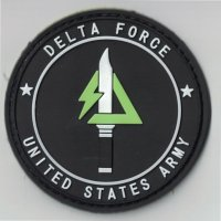US ARMY DELTA FORCE Black