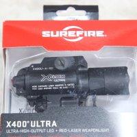 【SUREFIRE(シュアファイヤー)】X400 ULTRA ウェポンライト(X400U-A-RD) 《軍放出品 未使用品》