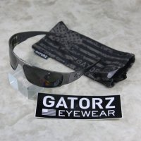 【GATORZ(ゲーターズ)】MAGNUM GUN METAL SMOKE/POLARIZEDレンズ