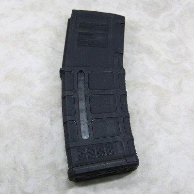画像1: 【米軍実物】MAGPUL(マグプル) MOE pmag30 AR/M4 GENM3 WINDOW /黒 窓付〈軍放出品〉
