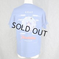 【USAF(アメリカ空軍)】Thunderbirds(サンダーバーズ) ヒストリーTシャツ 〈Lサイズ〉