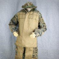 【ORDNANCE(オードナンス)沖縄】ギリースーツ 海兵隊〈軍放出品 未使用品〉